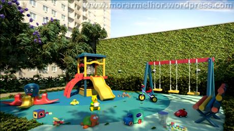 Perspectiva ilustrativa do Playground