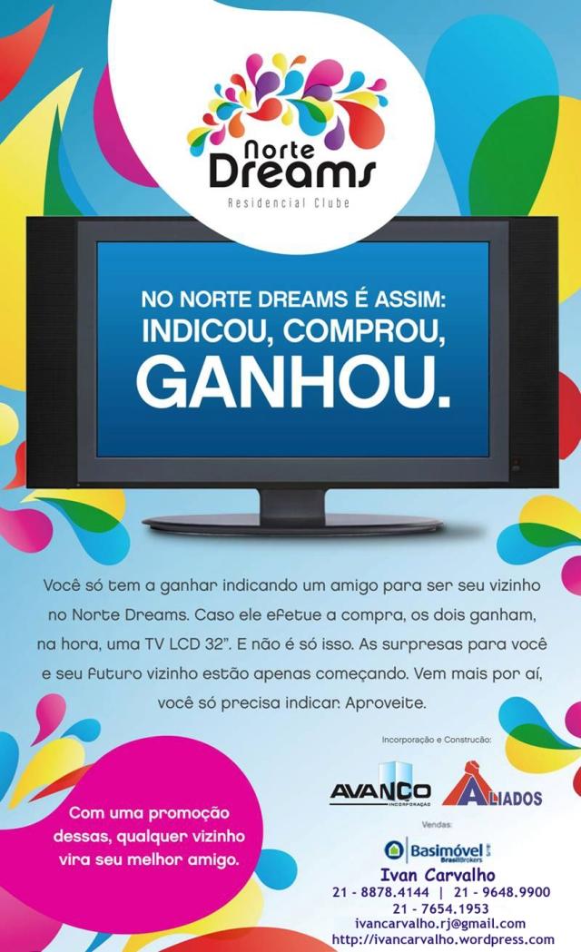 Promoção indique e ganhe TV LCD 32'