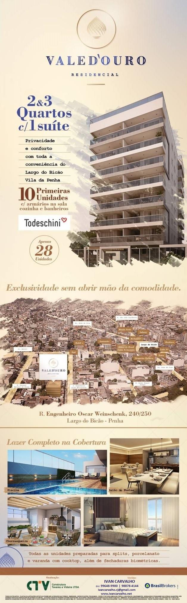 Lançamento Construtora Tavares e Videira - Rua Engenheiro Oscar Weinschenk