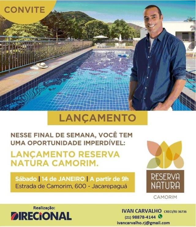 Reserva Natura - convite