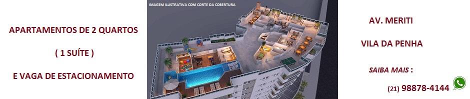 Match Residencial Apartamentos de 2 quartos ( 1 suíte ) na Vila da Penha