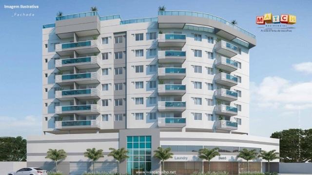 Match Residencial Apartamentos de 2 quartos ( 1 suíte) na Vila da Penha_Ilustração da fachada